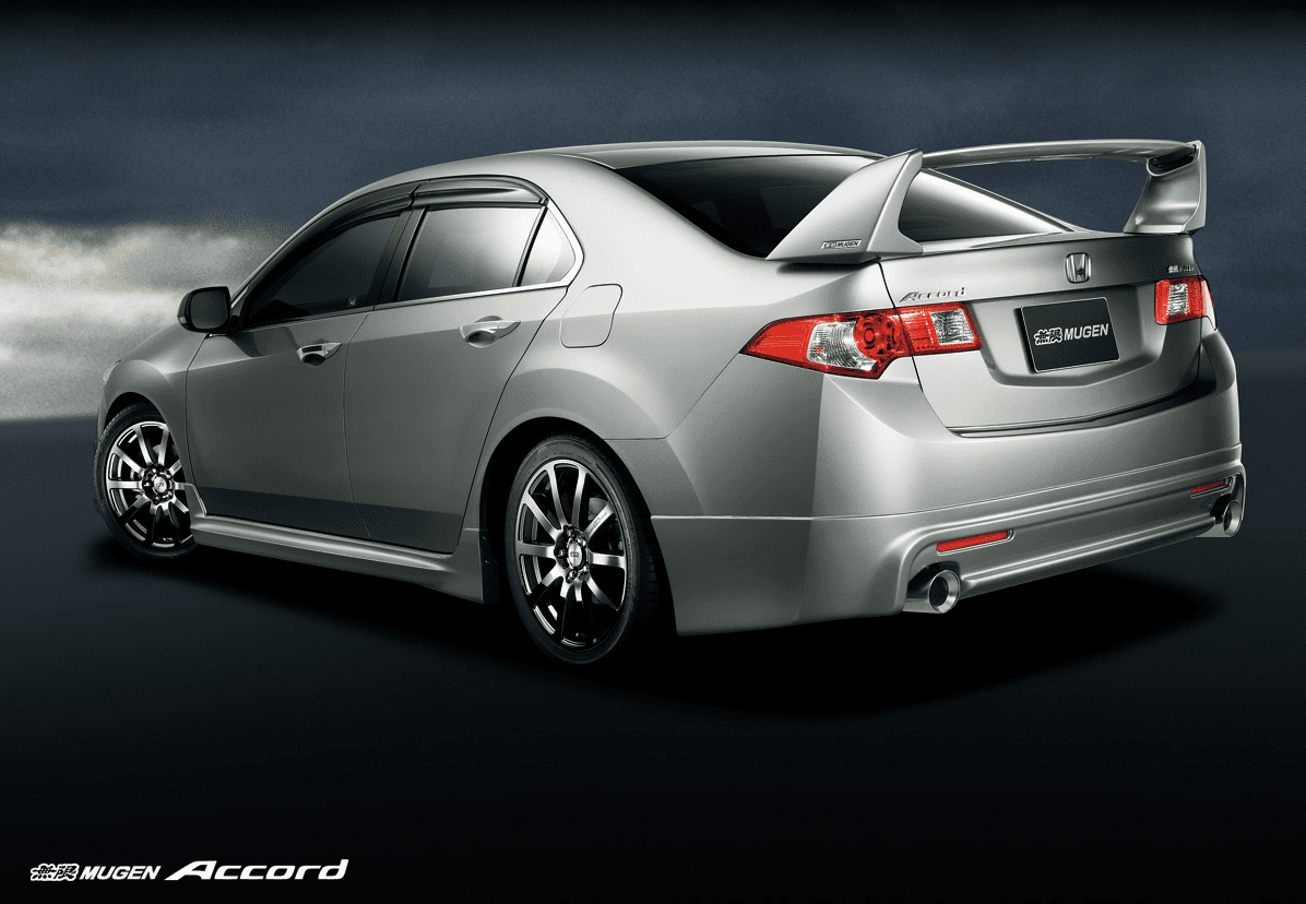 Mugen CU2 Accord CW2 TSX 2009-2010 Rear Wing 84112-XLL-K0S0-ZZ