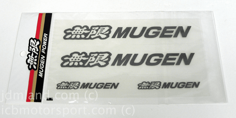 Mugen Decal Sheet/Set Gunmetal color AV68 AV69