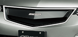 Mugen Front Grille Kit Acura TSX / Accord CU2 CW2 Wagon 2009+ 75100-XLL-K0S0-CB  Crystal Black Pearl