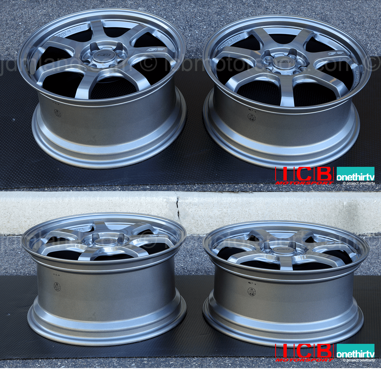 Mugen GP Forged Wheel Gun Metallic Finish Honda S2000 AP1/AP2 17X7.5 +52 Offset 17X8.5 +59 Offset