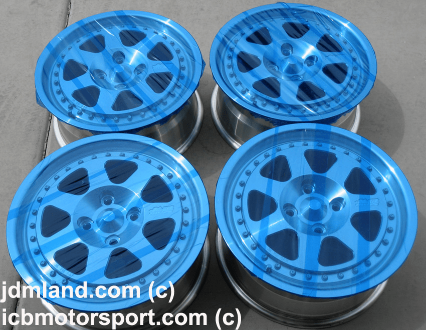 "MUGEN M7 15"" 4X100 MINT CONDTION! - SOLD!"