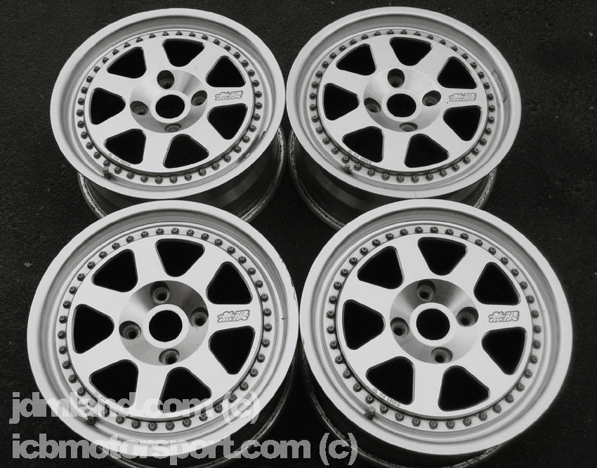 "Mugen M7 16"" 4X114.3 Silver - SOLD!"
