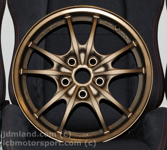 """Mugen MF10 Bronze 16"""" 5X114.3 +43 Offset - BRAND NEW IN BOX - SOLD OUT"""
