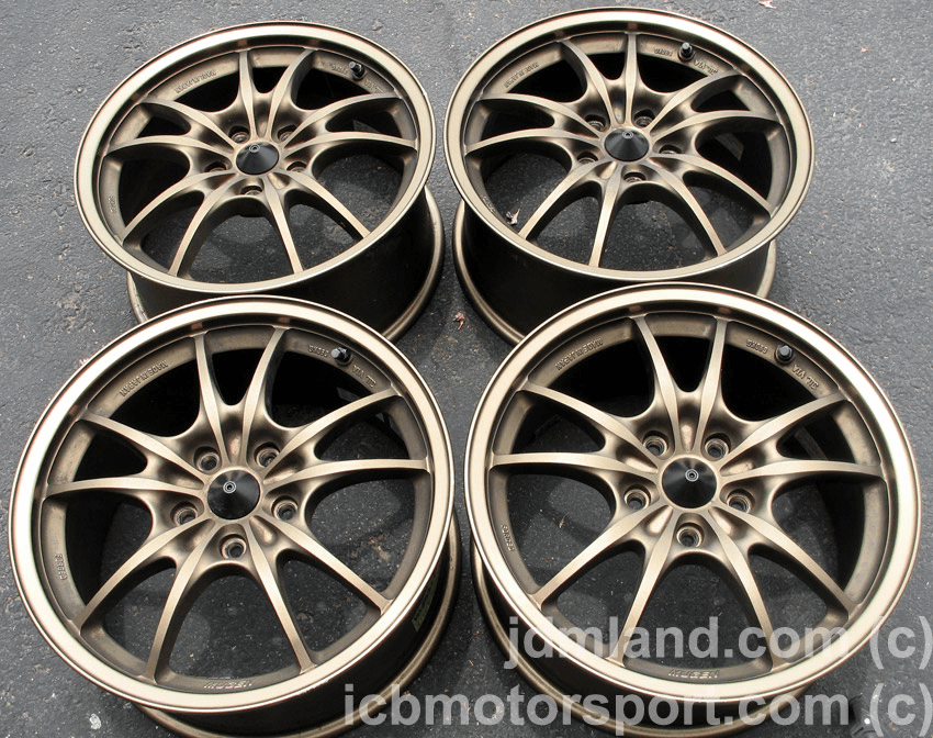 "Mugen MF10 Bronze 17"" 5X114.3 Integra DC5/RSX - SOLD!"