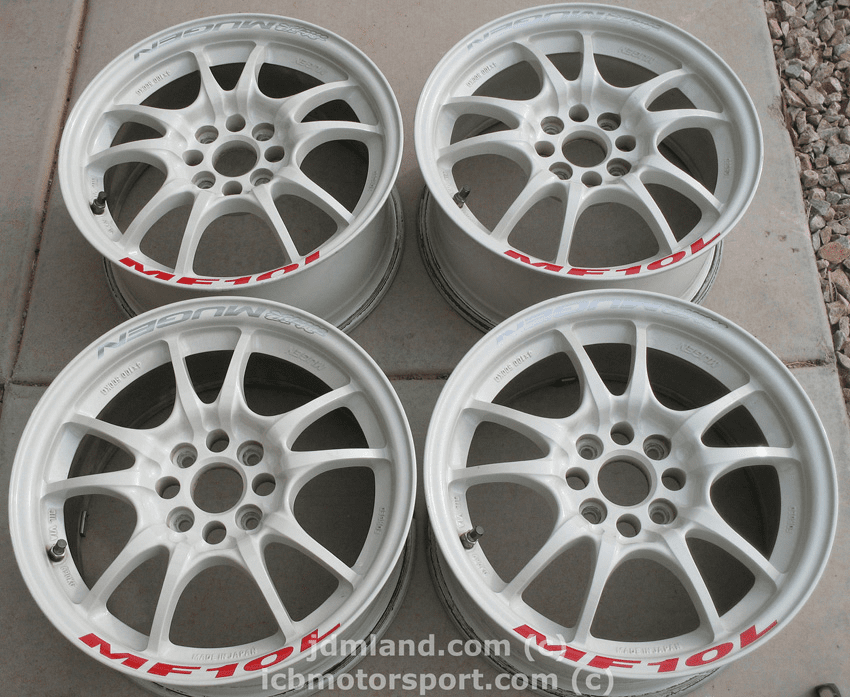 MUGEN MF10L WHITE 15x7 +40 4X100 - SOLD!