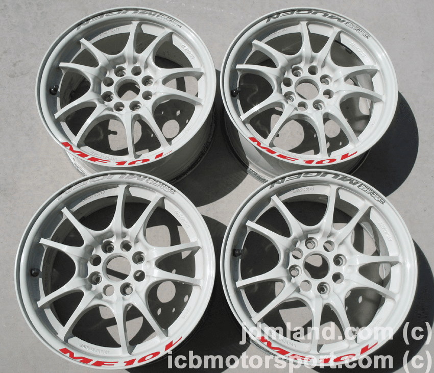 Mugen MF10L White 15X7  4X100 - SOLD!