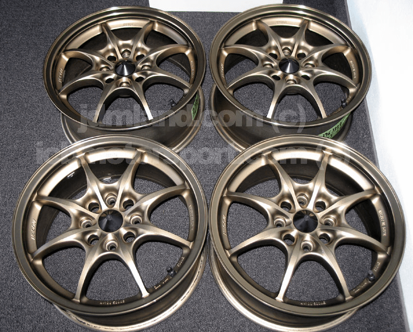 "MUGEN MF8 16"" 4X114.3 Bronze Mint - SOLD!"