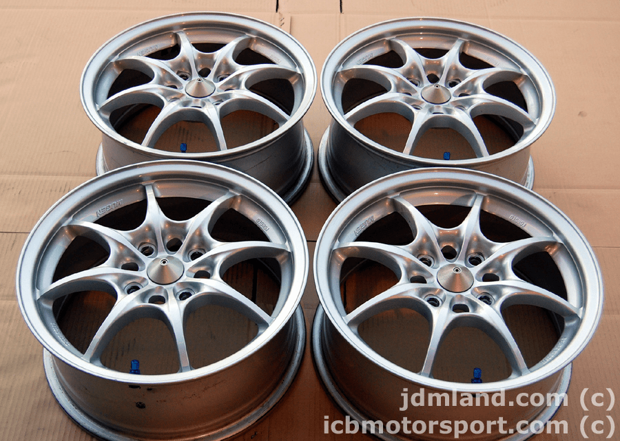 "Mugen MF8 16"" Silver 4X114.3 +52 Offset Sold"