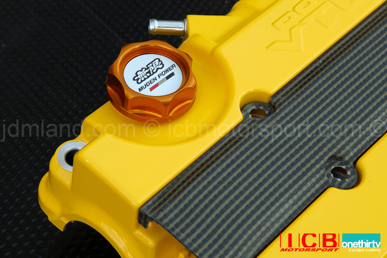 Mugen Oil Cap Gen 2  Fits All Hondas/Acuras Gold