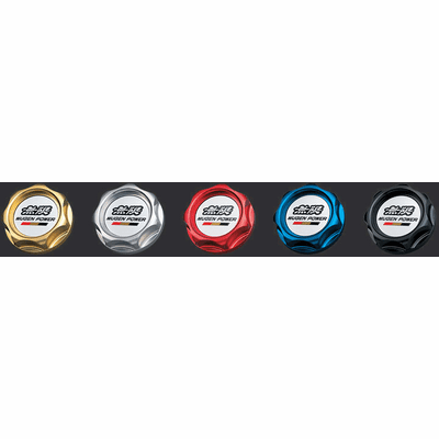 Mugen Oil Cap Gen 2  Fits All Hondas/Acuras Gold Silver Red Blue Black 15610-XG8-K1S0