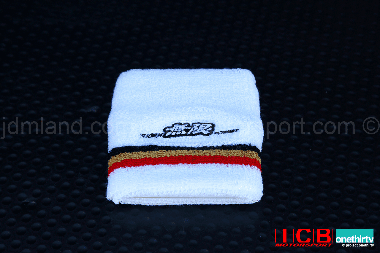 Mugen Power White Wrist Band Free Shipping