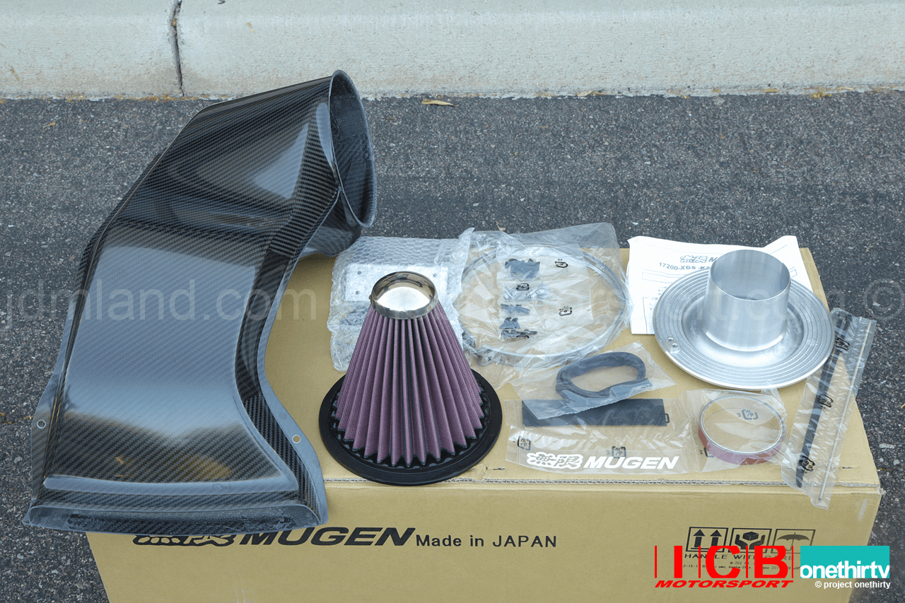 Mugen S2000 High Performance Air Intake System Carbon Fiber 17200-XGS-K1S0