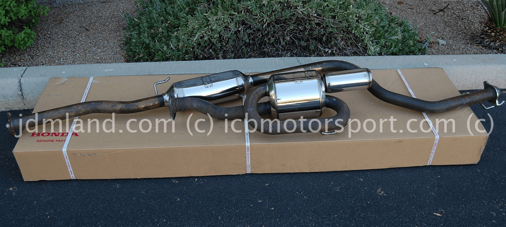 Mugen Sports Exhaust System Twin Loop Civic Type R EK9 18000-XGER-K1S0 Sold
