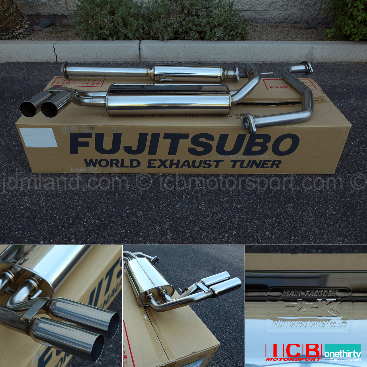 NEW Fujitsubo Legalis R Exhaust JDM CRX SiR B16A 1989-1991 Part:750-52433 Pre-Order