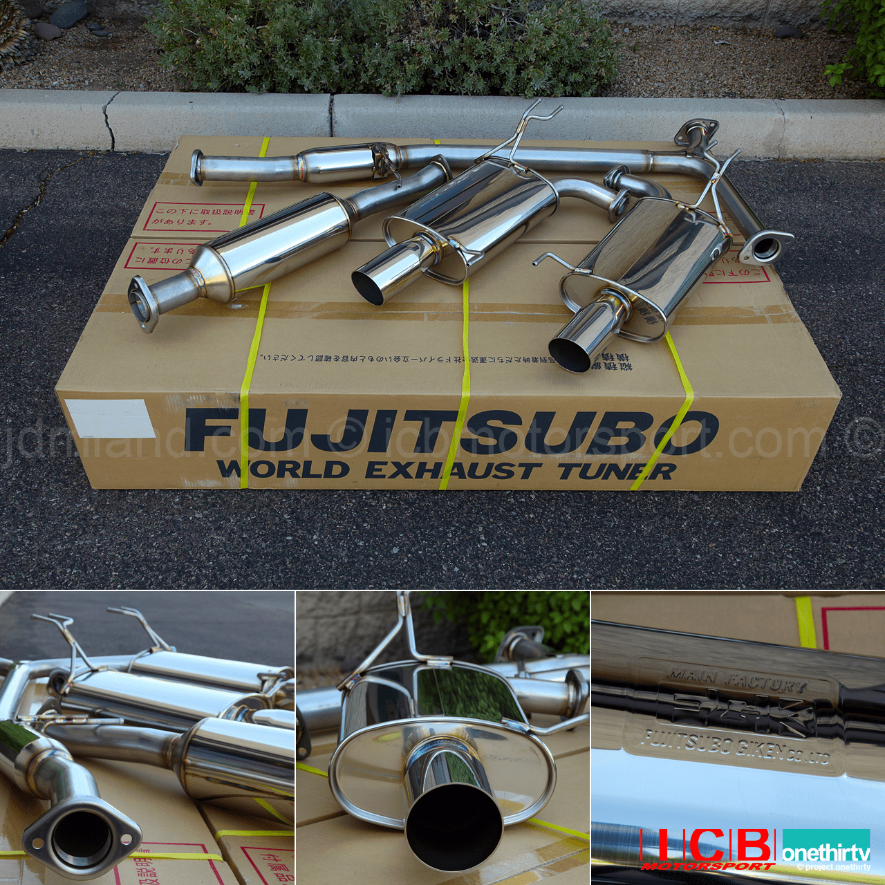 NEW Fujitsubo Legalis R Exhaust JDM/USDM Acura CL9 TSX 2004-2008 Part: 760-54131 Pre-Order