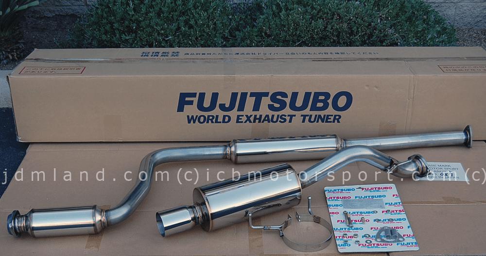 NEW Fujitsubo RM-01A Exhaust JDM Acura Integra Type R 96 Spec. 98 Spec.