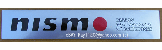 "Nissan Nismo 6"" Sticker - FREE SHIPPING!"