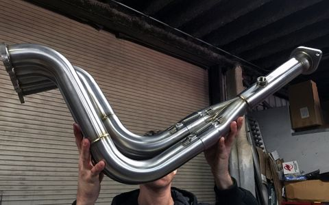 R Crew Racing Header K20A Stainless Steel (K20A EG/EK/DC2)