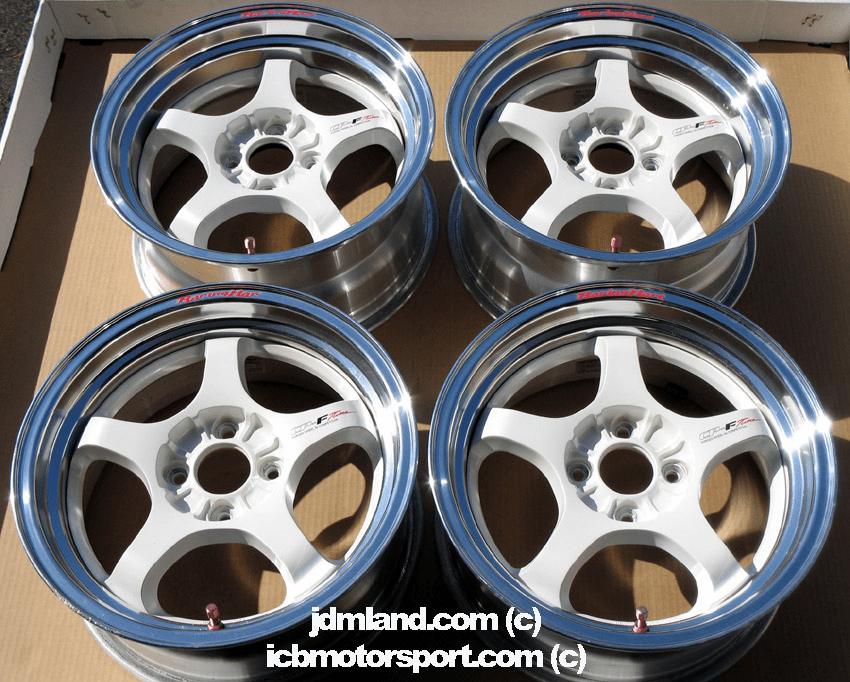 "Racing Hart CPF- Tuner 15"" 4X100 - SOLD!"