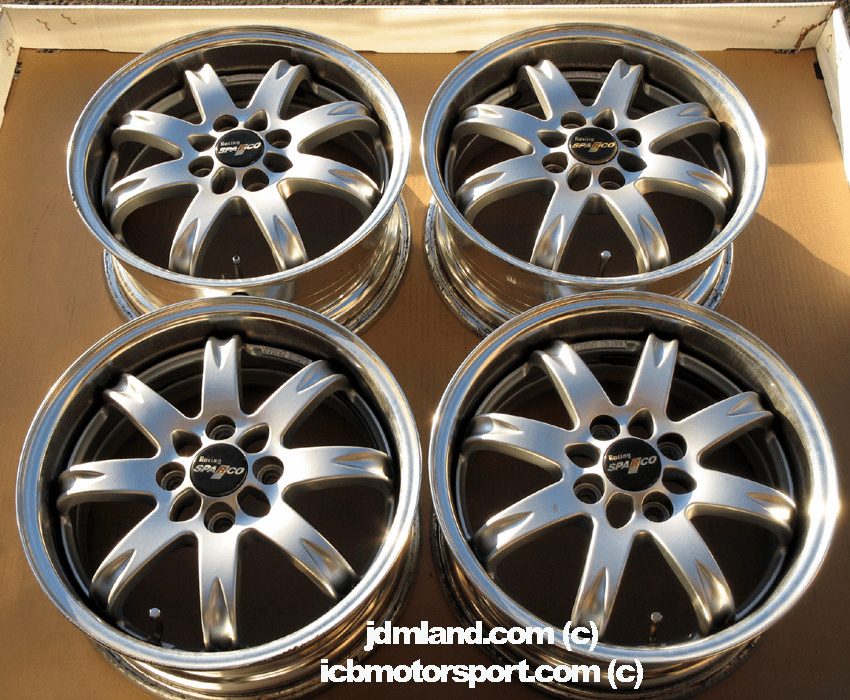 "Racing Sparco Racing RR 15"" 4X100 Silver - SOLD!"