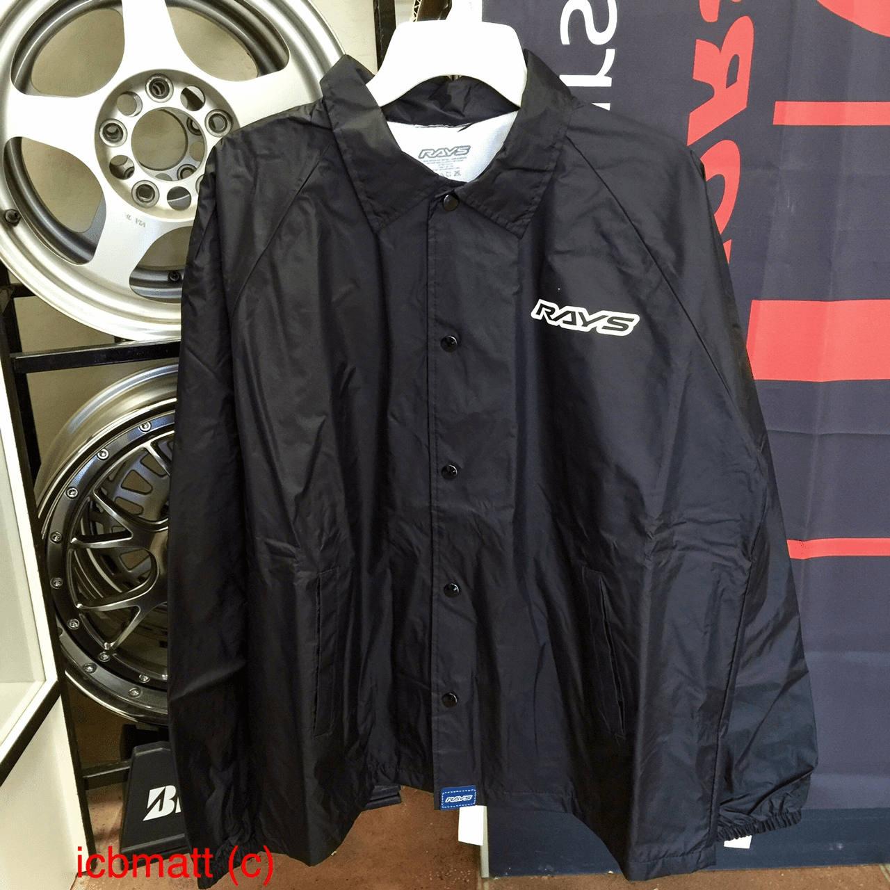 RAYS Engineering Volk Racing Original Windbreaker