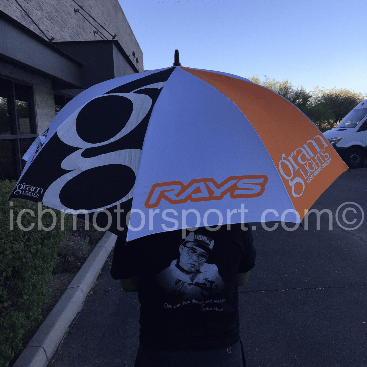 RAYS Gram Lights golf Umbrella