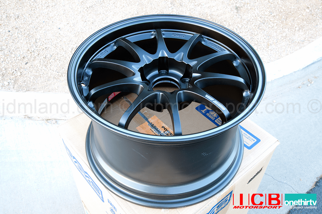 Rays Volk Racing CE28 RT Black Edition Wheels Set 5X114.3 17X10 +45 Offset Sold