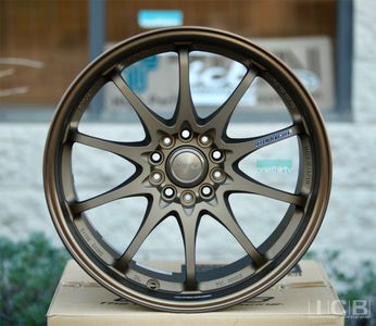 Rays Volk Racing CE28N Bronze Wheel 18X9.5 +22 Offset 5X114.3 Concave Face