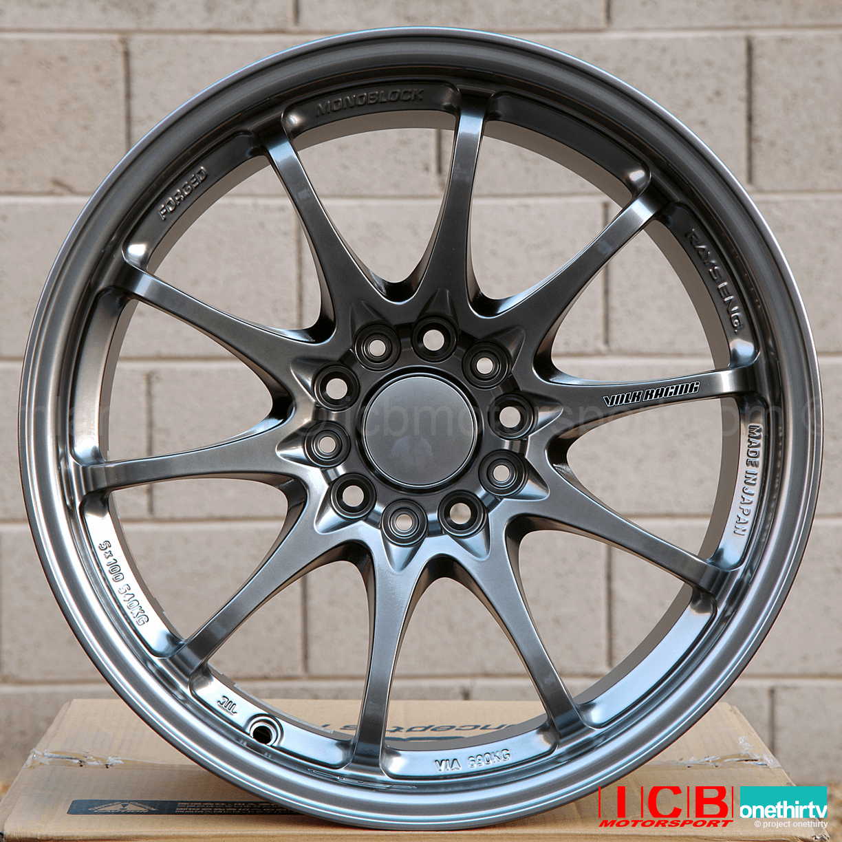 Rays Volk Racing CE28N Formula Silver Wheels Set 5X114.3 17X10 +50 Offset Concave Face BBK