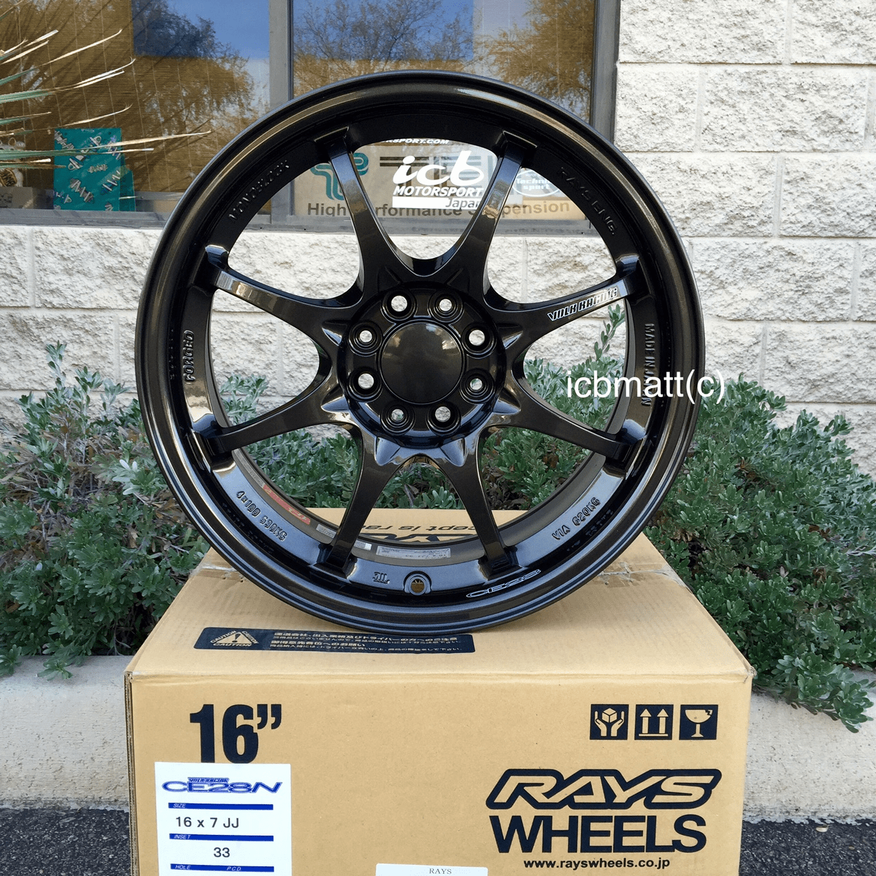 Rays Volk Racing CE28N Wheels 16X7 4X100 +33 Offset Various Colors SOLD