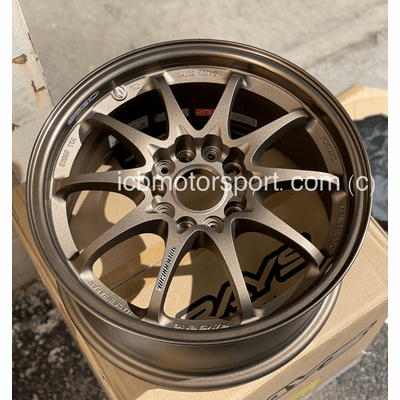 Rays Volk Racing CE28N Wheels 16X7.5 5X114.3 +35 Offset Bronze