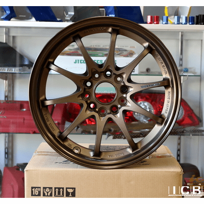 Rays Volk Racing CE28N Wheels 16X8.5 5X114.3 +30 Offset Concave Bronze