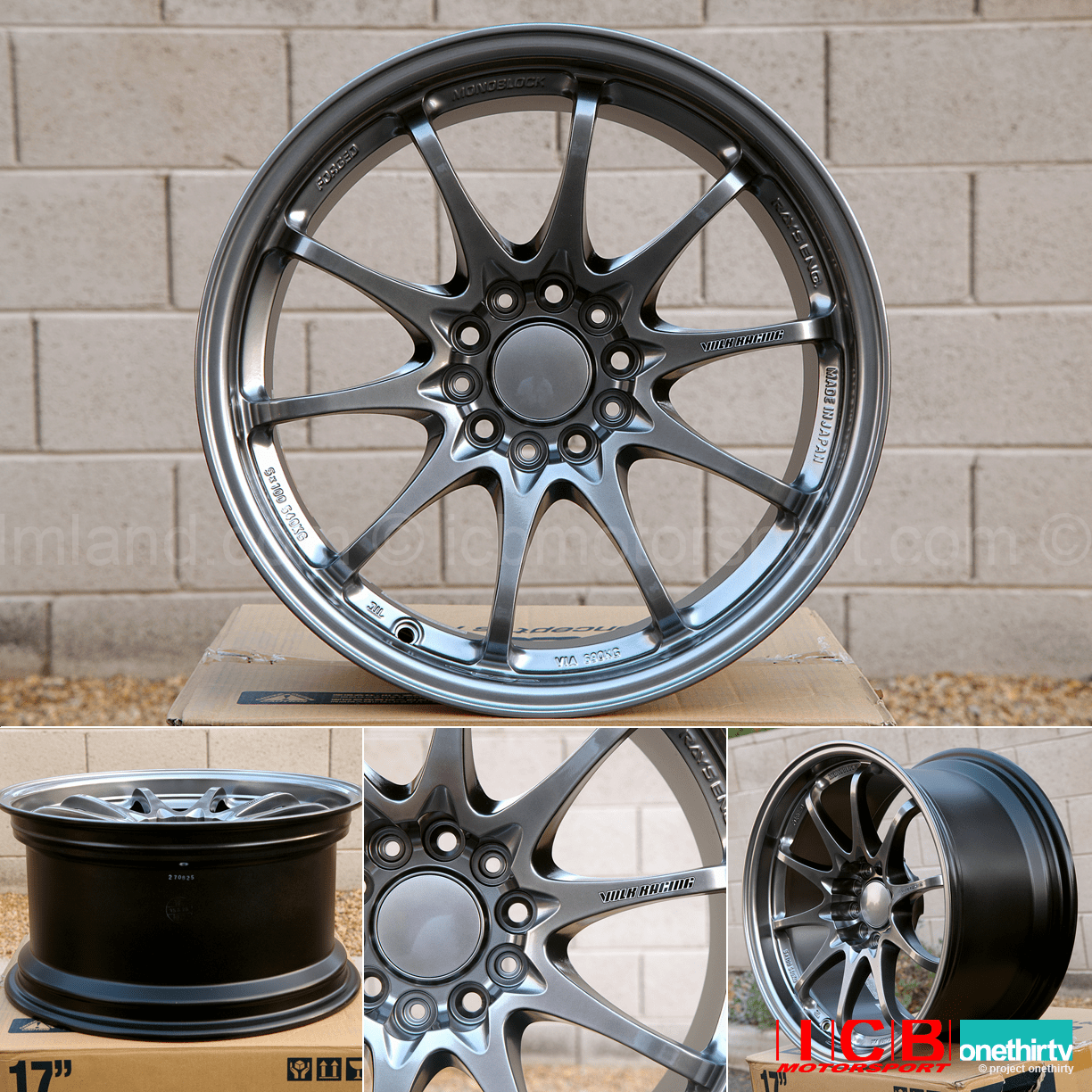 Rays Volk Racing CE28N Wheels 17X9 5X114.3 +22 Offset Concave Face Formula Silver