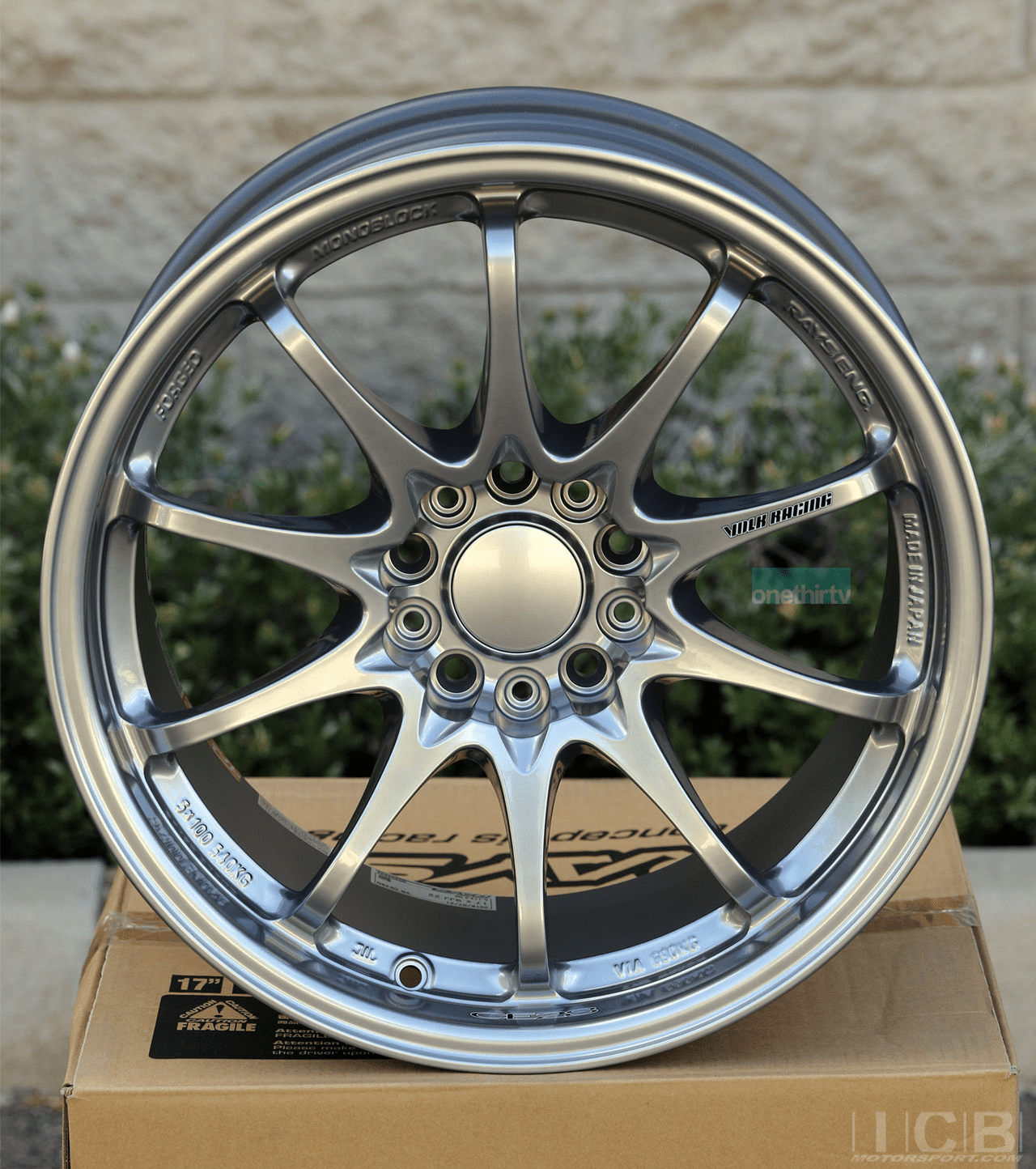 Rays Volk Racing CE28N Wheels 17X9 5X114.3 +22 Offset Concave Face Mercury Silver