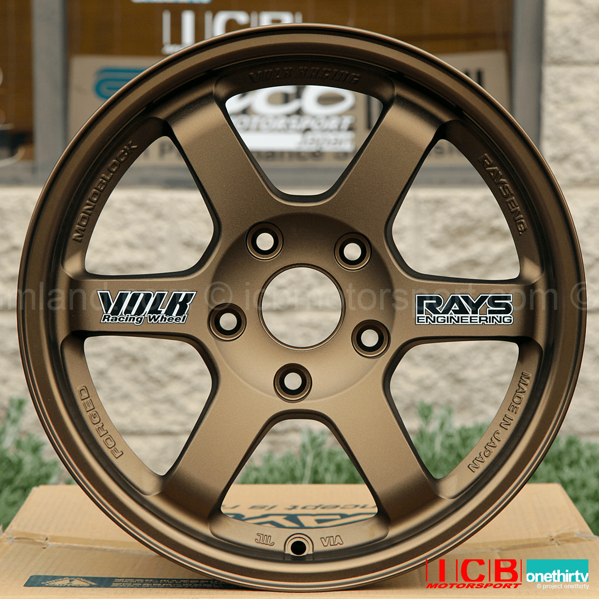 Rays Volk Racing TE37 Wheels 15X8 5X114.3 +32 Offset Bronze