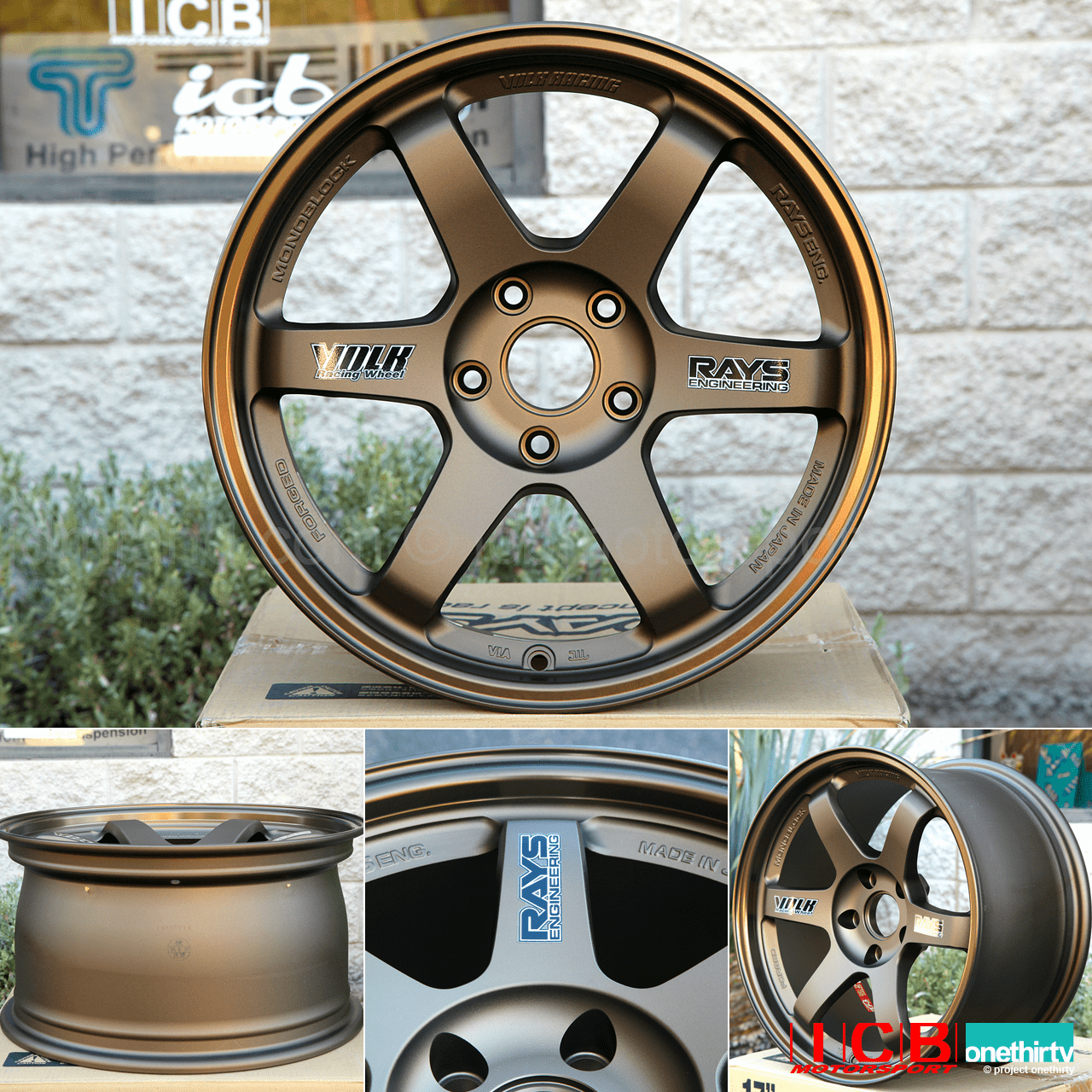 Rays Volk Racing TE37 Wheels 17X9 5X114.3 +34 Offset Concave Face Bronze