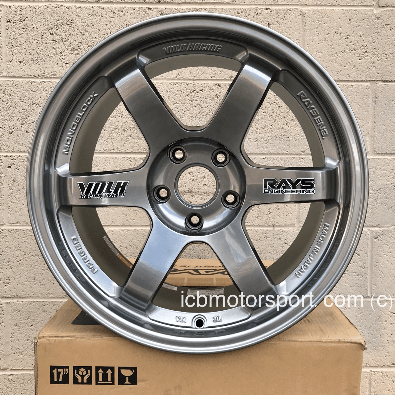 Rays Volk Racing TE37 Wheels 17X9 5X114.3 +34 Offset Concave Face Formula Silver