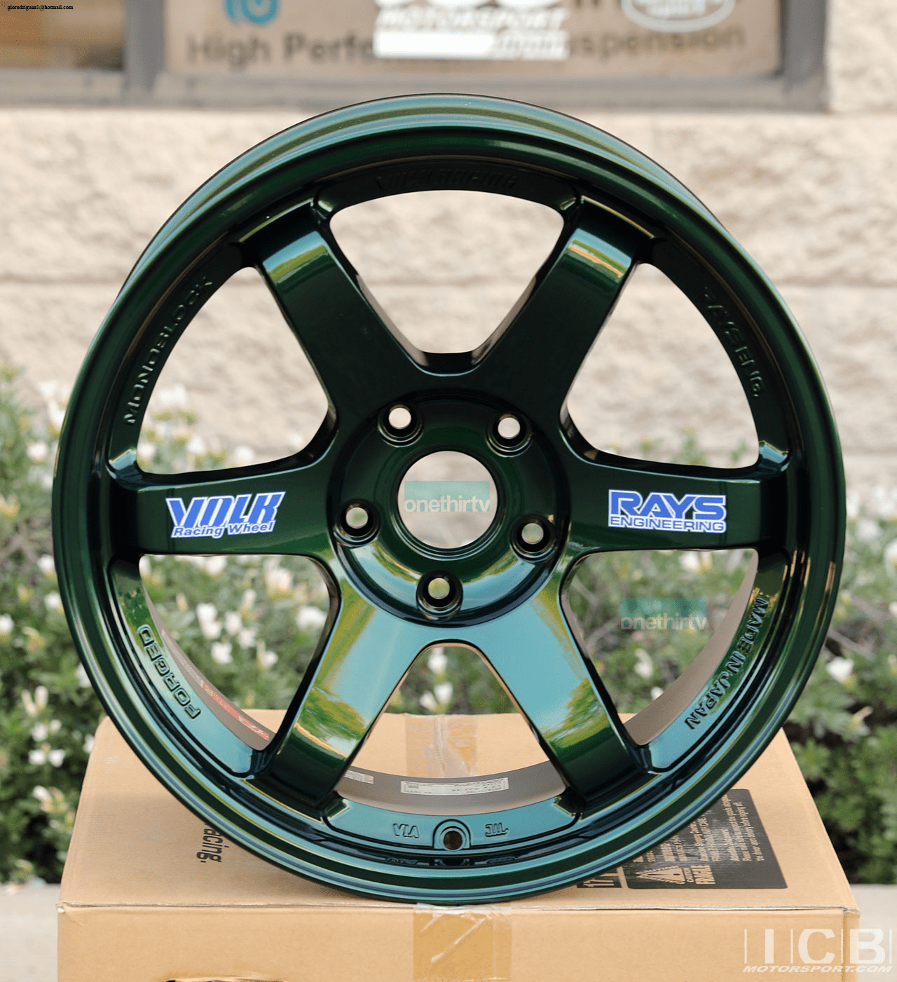 Rays Volk Racing TE37 Wheels 17X9 5X114.3 +34 Offset Concave Face Racing Green