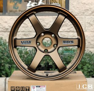 Rays Volk Racing TE37 Wheels 18X10 5X120 +25 Offset BMW M3 E46/92 F80/82 M4 GTR Concave Face Bronze