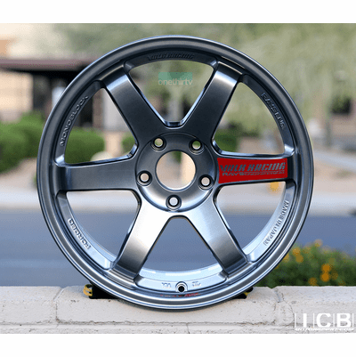 Rays Volk Racing TE37SL Formula Silver Wheels 18X9.5 +38 Offset 5X120 Concave Face Civic FK8 CTR Pre-Order