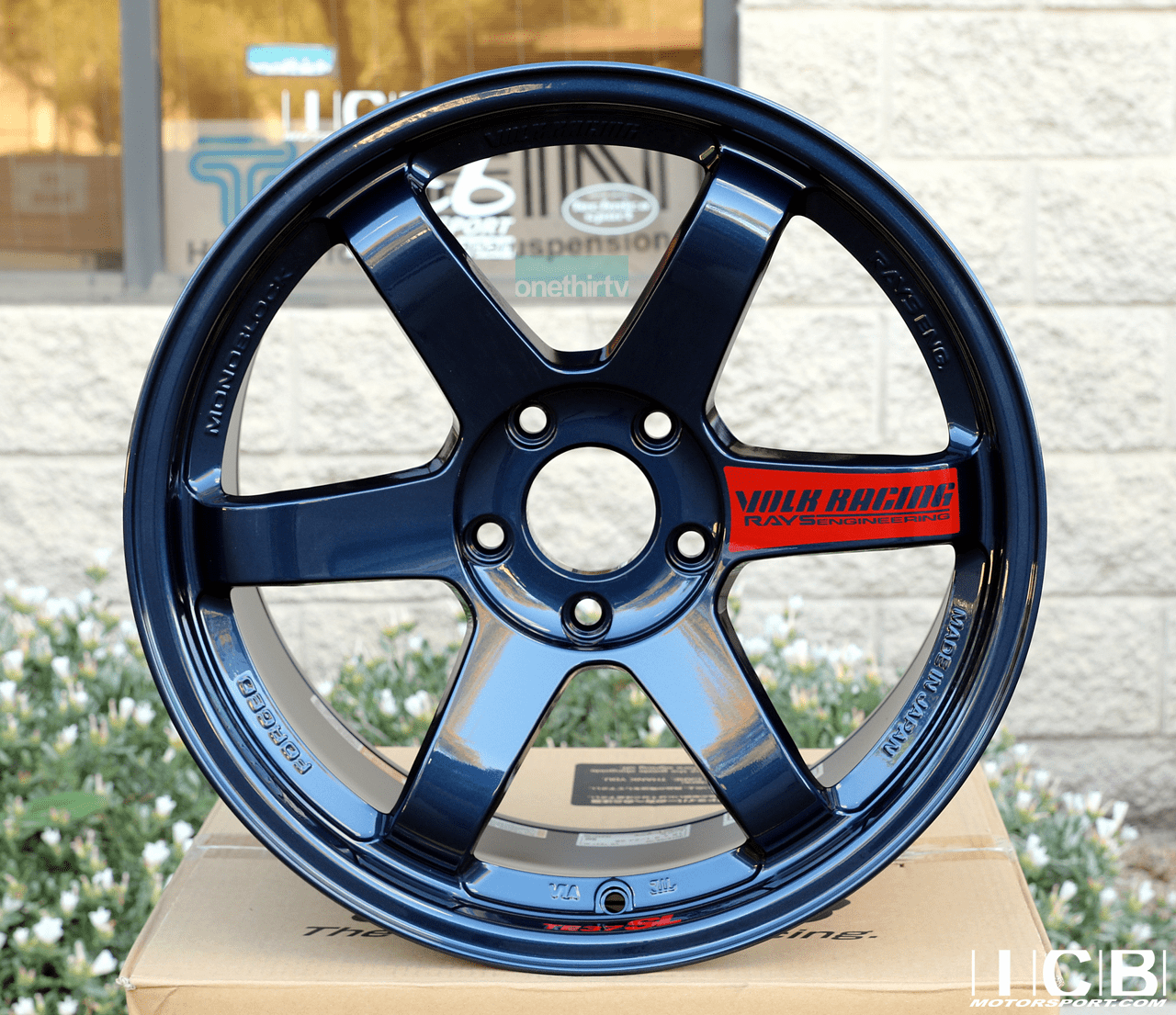 Rays Volk Racing TE37SL Mag Blue Wheels 18X9.5 +38 Offset 5X120 Concave Face Civic FK8 CTR Pre-Order