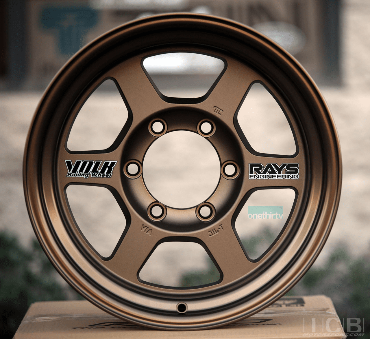 Rays Volk Racing TE37X OG Wheels 16X8 6X139.7 -20 Offset Bronze Large P.C.D.