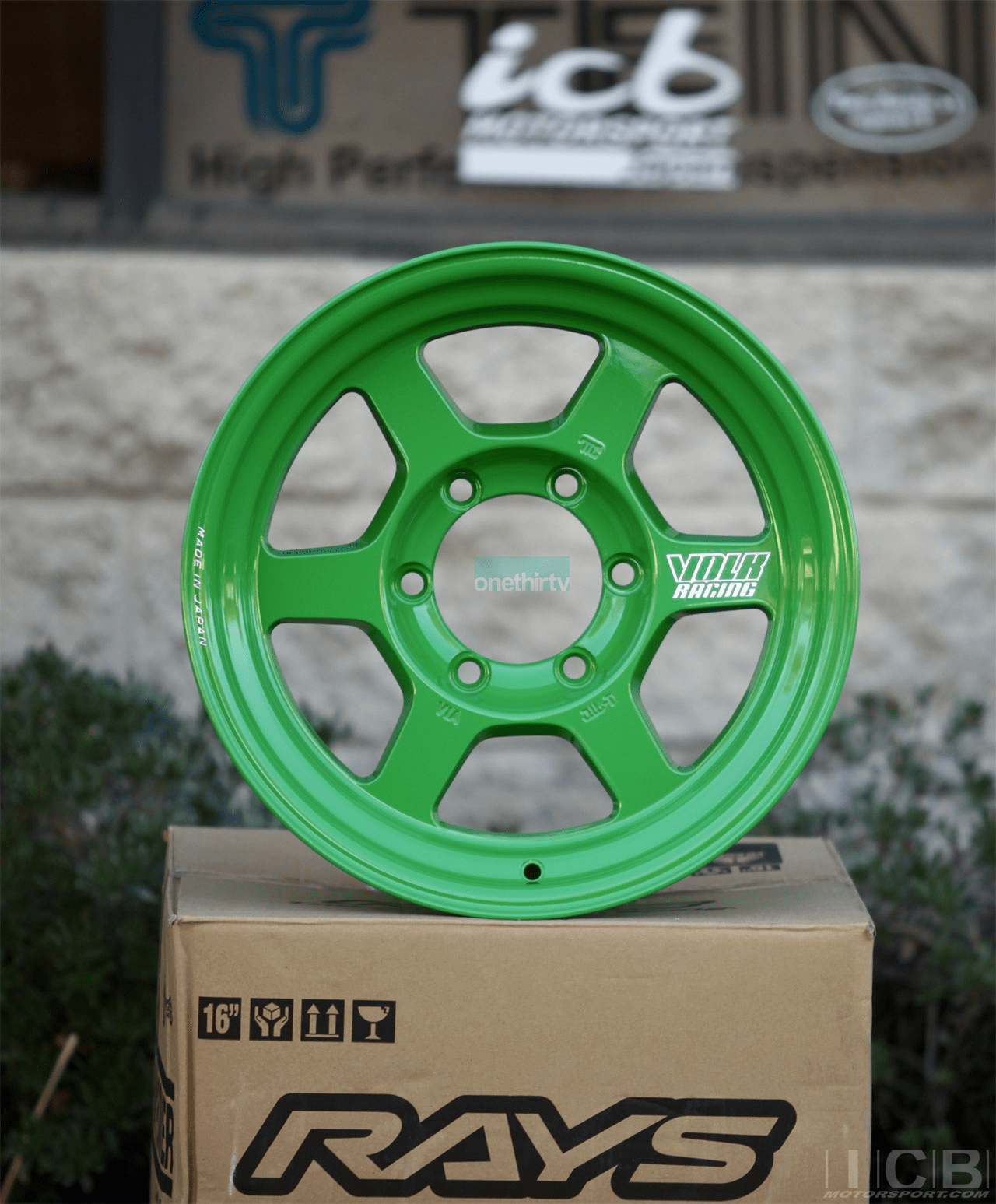 Rays Volk Racing TE37X Progressive Model Wheels 16X8 6X139.7 0 Offset Takata Green Large P.C.D.