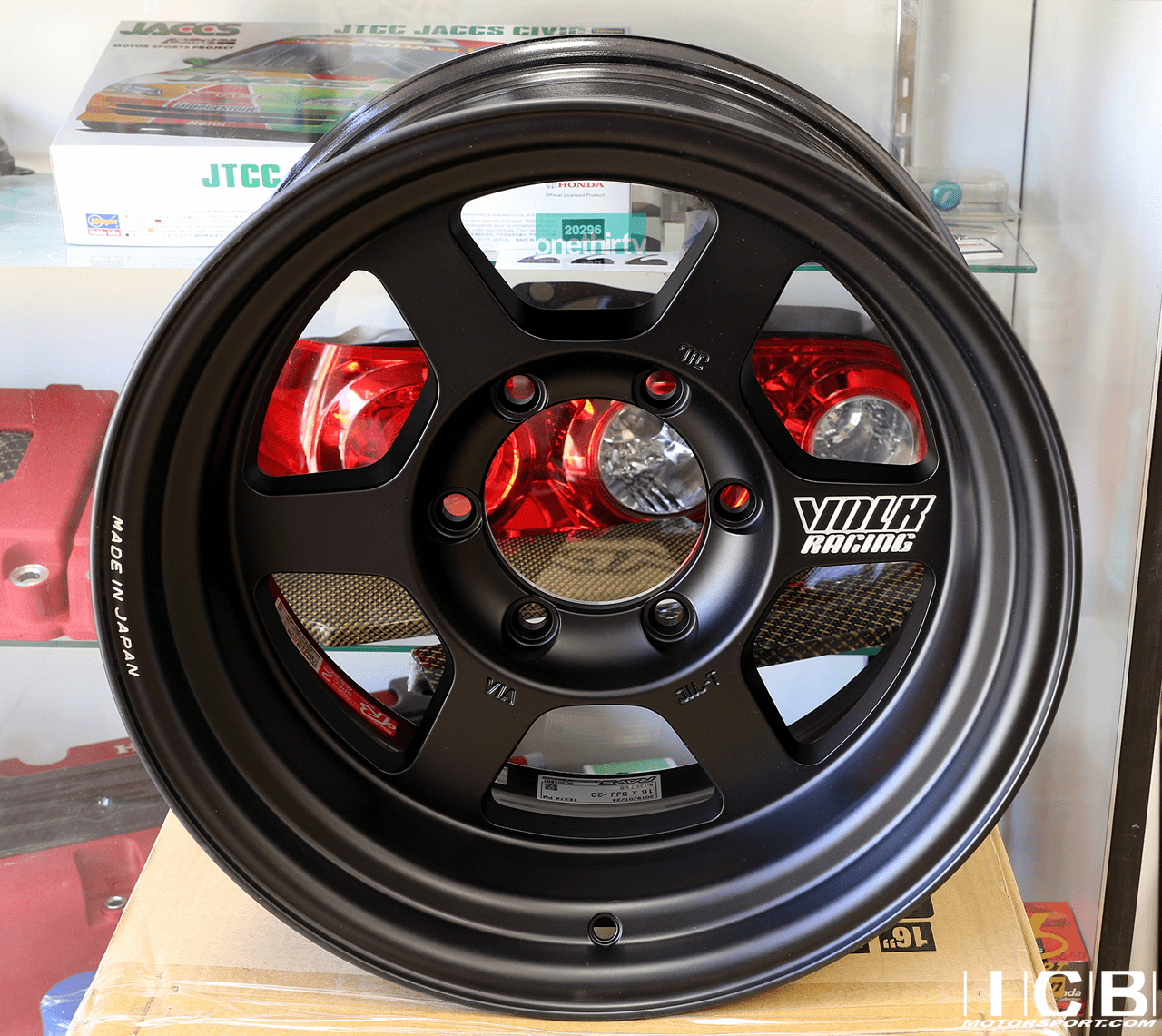 Rays Volk Racing TE37X Wheels 16X8 6X139.7 0 Offset Flat Black Large P.C.D. Progressive Model