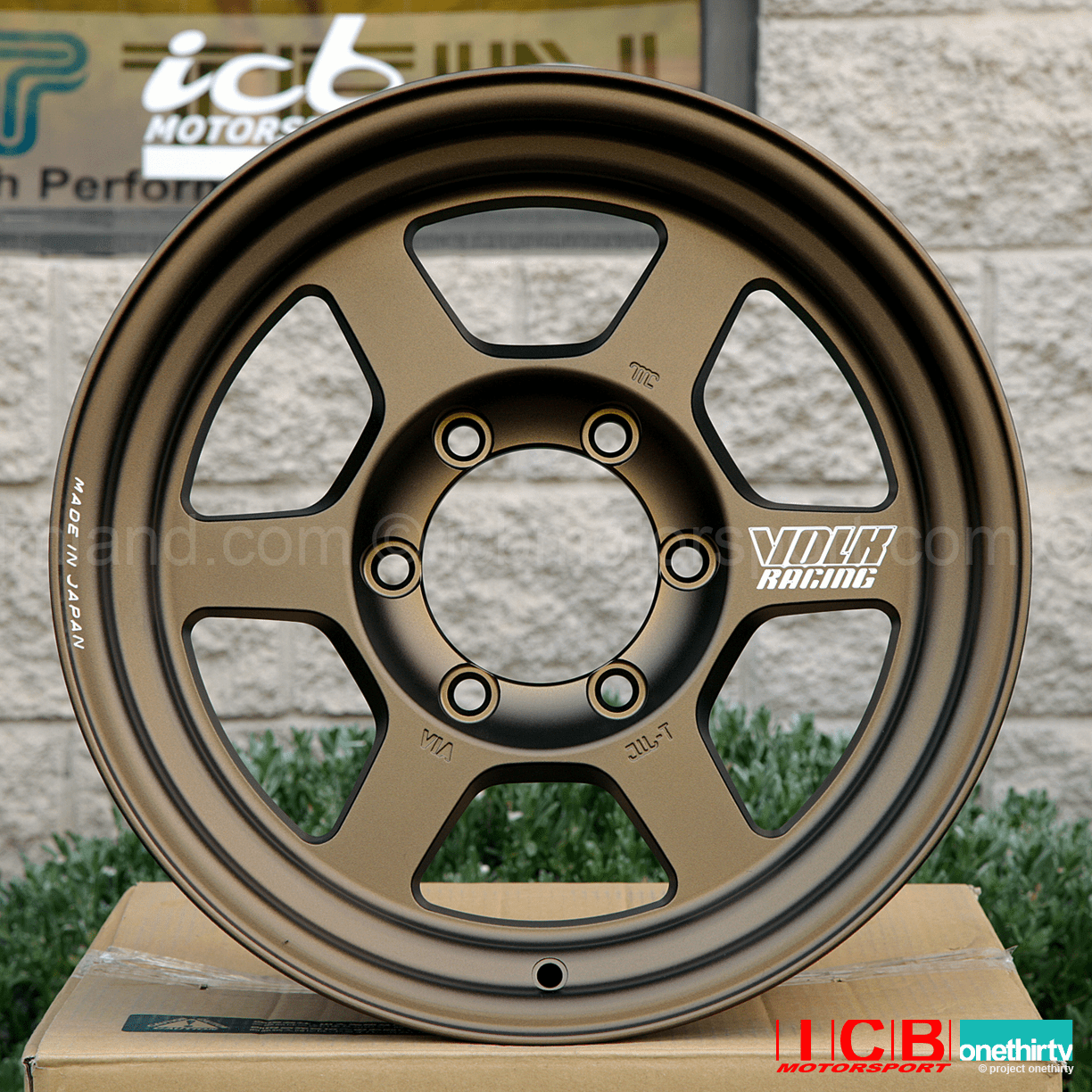 Rays Volk Racing TE37X Wheels 16X8 6X139.7 -20 Offset Bronze Large P.C.D. Progressive Model