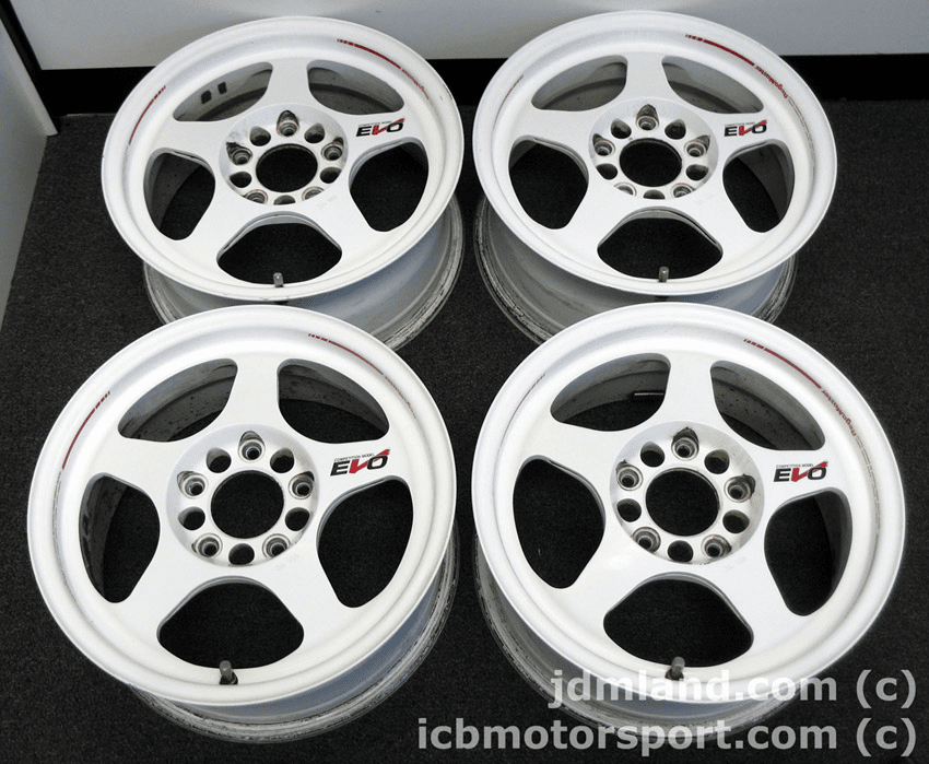 "Regamaster EVO 15"" 5X114.3 White - SOLD!"