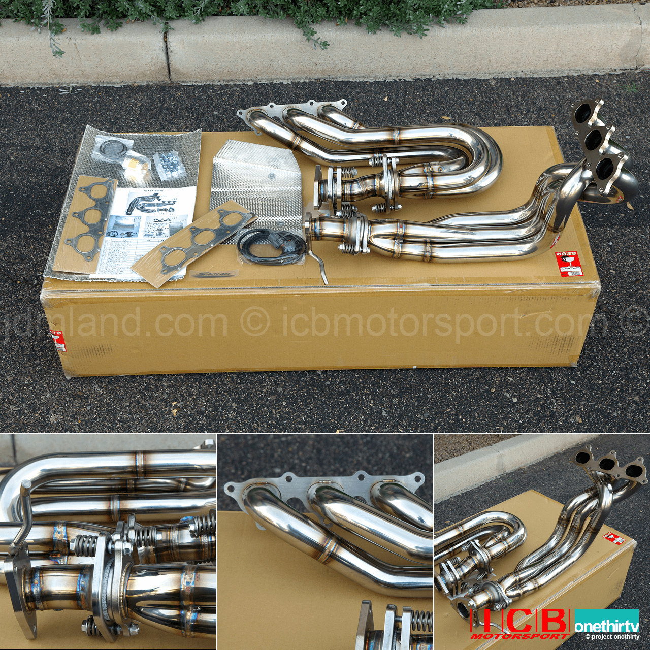 Saclam Exhaust Manifold / Header Kit for NSX (NA1)