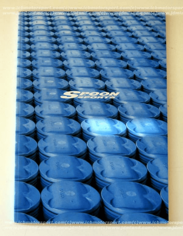 Spoon Sports 2002 Comprehensive Parts Catalog Not In Stock!
