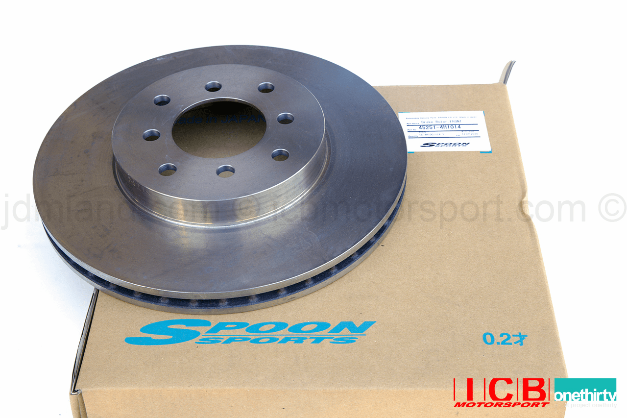 Spoon Sports Brake Rotor Front for Twin Block Calipers 280mm - Civic/Integra 4X100 or 4X114.3 45251-4H1014