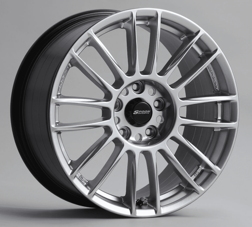 Spoon Sports CR93 Wheels Hyper Silver 17X9.5 +38 offset (1 Wheel)